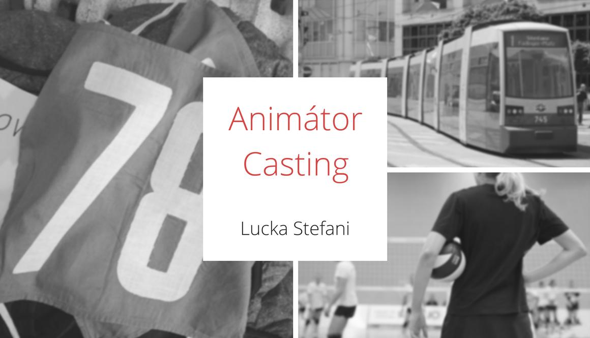 Animátor | Casting
