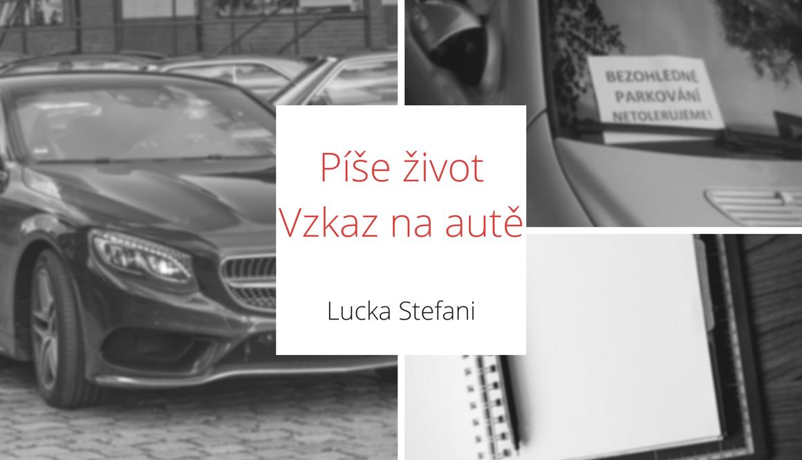 Píše život | Vzkaz na autě