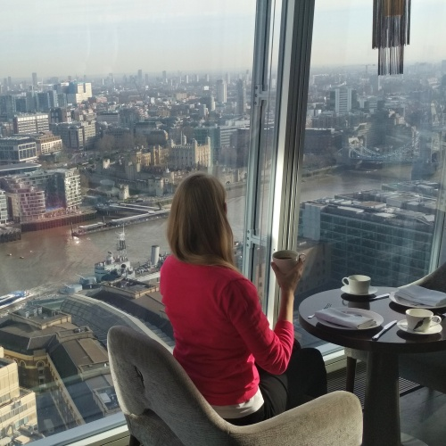 Londýn výhled