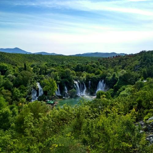 vodopády Kravica