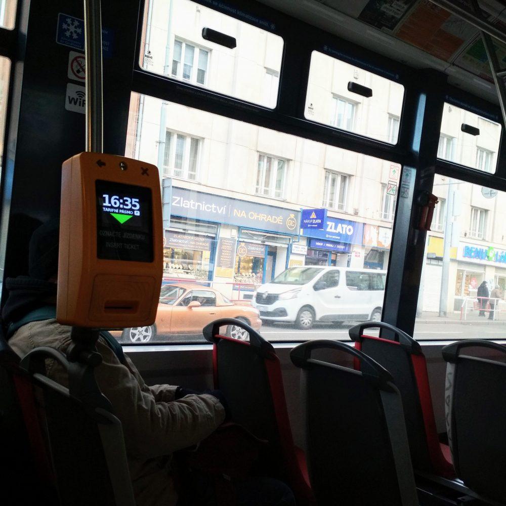 náhody tramvaj