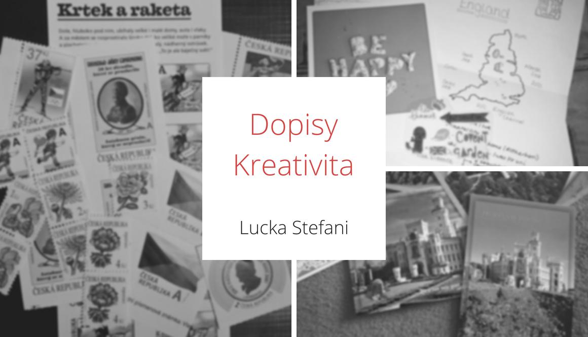 Dopisy | Kreativita vítána