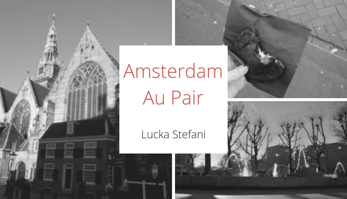 První pracovní týden | 48/2016 | Amsterdam