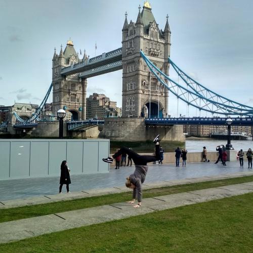Londýn Tower Bridge