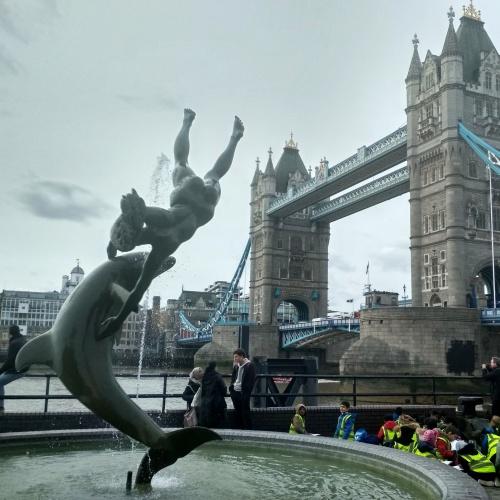 Londýn fontána