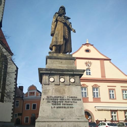 Tábor Jan Žižka pomník